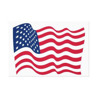 Lienzo La bandera nacional de los Estados Unidos de
