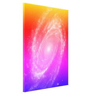 Lienzo La galaxia Bode's colorida