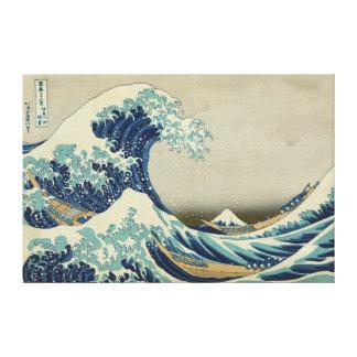 Lienzo La gran onda de Kanagawa