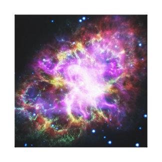 Lienzo La radiografía de Chandra en la nebulosa de
