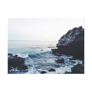 Lienzo La resaca el | oscila el océano del mar el | del |