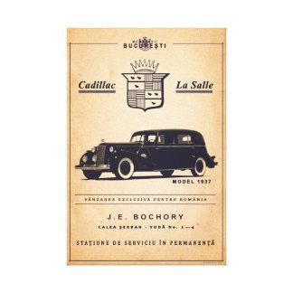 Lienzo La Salle - poster de Cadillac del vintage