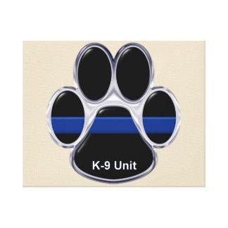 Lienzo La unidad K-9 enrarece Blue Line