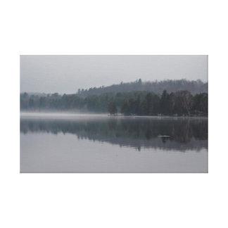 Lienzo Lago brumoso