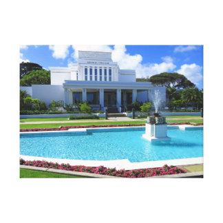 Lienzo Laie, templo mormón de Hawaii