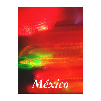 Lienzo Lámina - Colores de México del en de Arte Lona Estirada Galerías