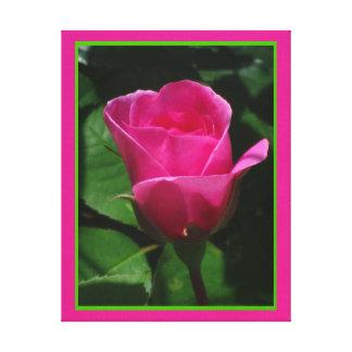 Lienzo Lámina - Flor Rosa del en de Arte Lona Estirada Galerías