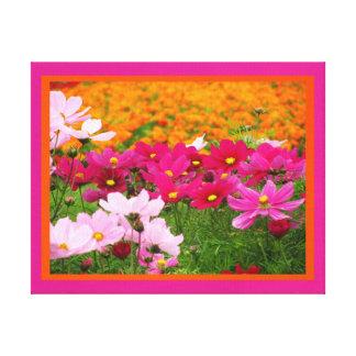 Lienzo Lámina - Las Flores del en de Arte Impresión En Lona