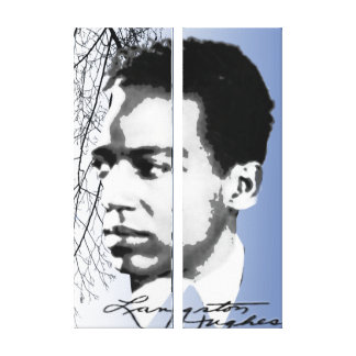 Lienzo Langston Hughes