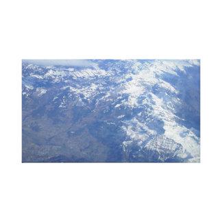 Lienzo Las montañas del aire
