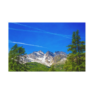 Lienzo las montañas famosas tres Levanne en lona