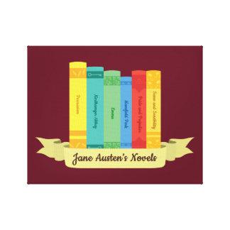 Lienzo Las novelas de Jane Austen III