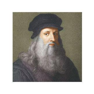 Lienzo Leonardo da Vinci