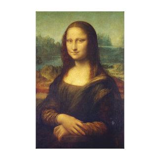 Lienzo Leonardo da Vinci icónico Mona Lisa
