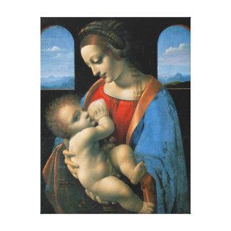 Lienzo Leonardo da Vinci Madonna Litta