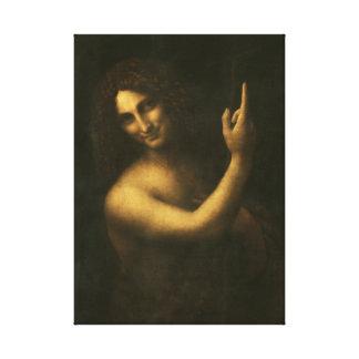 Lienzo Leonardo da Vinci St. John el Bautista