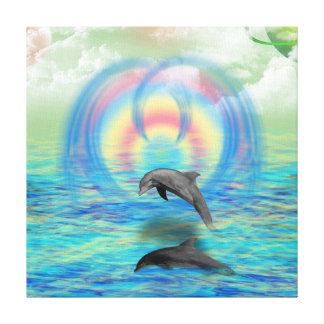 Lienzo Levantamiento del delfín