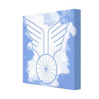 Lienzo Libertad de la bicicleta