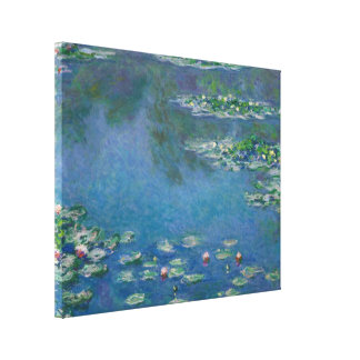 Lienzo Lirios de agua de Claude Monet