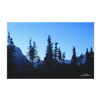 """Lienzo Lona 51,72"""" de la mañana del Parque Nacional"""