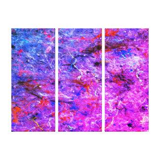 Lienzo Lona abstracta de la galería de la salpicadura del