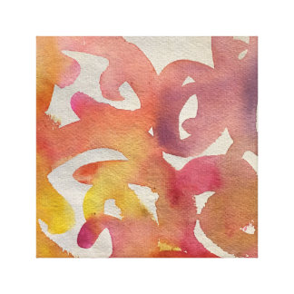 Lienzo Lona abstracta impresa de la pared