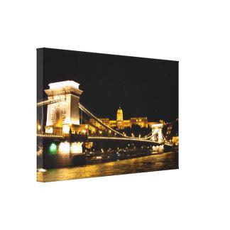 Lienzo Lona de Budapest
