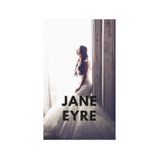 Lienzo Lona de Jane Eyre en la pared (edición clásica)