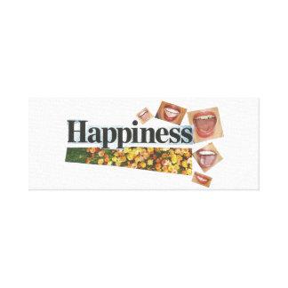 Lienzo Lona de la felicidad