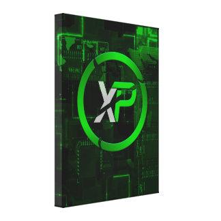 Lienzo Lona de la moneda de XP (puntos de la experiencia)