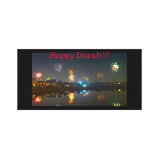 Lienzo Lona de la pared de Diwali