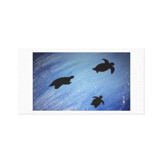 Lienzo lona de las tortugas