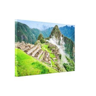 Lienzo Lona de Machu Picchu, Perú, Suramérica