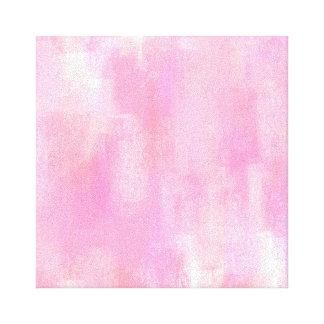 Lienzo Lona de pintura abstracta rosada de Digitaces