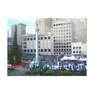 Lienzo Lona del cuadrado #5 de la unión de San Francisco