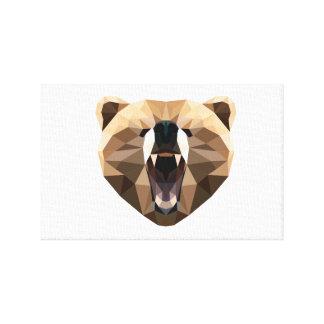 Lienzo Lona del oso