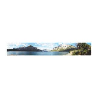 Lienzo Lona del panorama de Banff