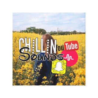 Lienzo Lona del sonido de Chillin