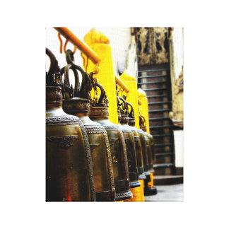 Lienzo Lona del viaje de Belces del templo budista de
