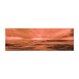 Lienzo Lona estirada trufa de la frambuesa