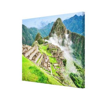 Lienzo Lona grande de Machu Picchu