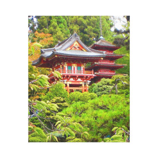 Lienzo Lona japonesa del jardín de té de San Francisco #7