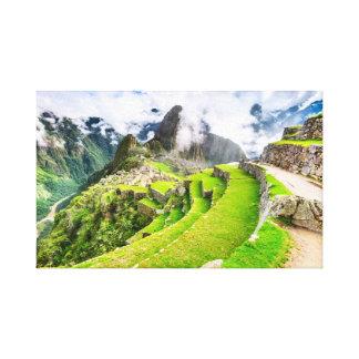 Lienzo Lona Machu Picchu, Cusco - Perú