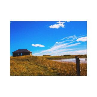Lienzo Lona meridional del paisaje de Alberta