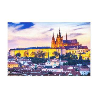Lienzo Lona Praga