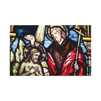 Lienzo Lona religiosa del sacramento del bautismo
