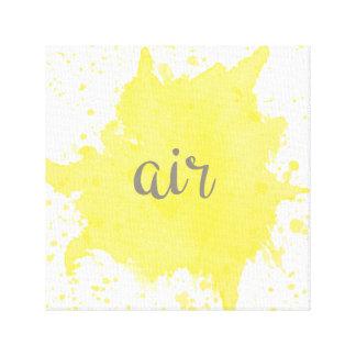 Lienzo Los cuatro elementos: Aire