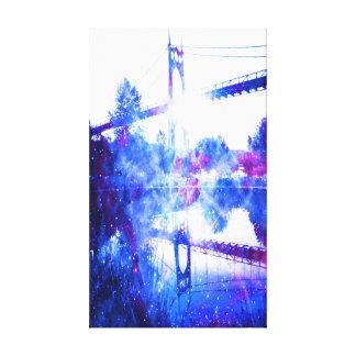 Lienzo Los sueños del amante de un puente a dondequiera