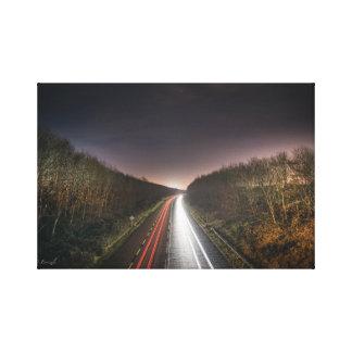 Lienzo Luces de la carretera