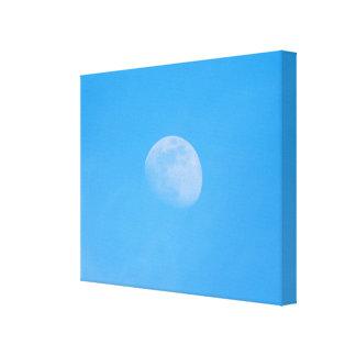 Lienzo Luna por la tarde